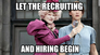 Let the recruiting